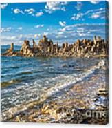 Windy Afternoon At Mono Lake Canvas Print