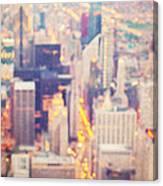 Windy City Lights - Chicago Canvas Print