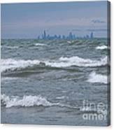 Windy City Skyline Canvas Print