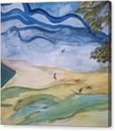 Windy Day Canvas Print