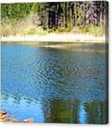 Windy Grace Lake Canvas Print