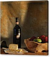 Wine And Cheese 1 Canvas Print