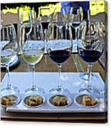 Wine And Cheese Tasting Canvas Print