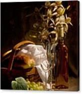 Wine And Romance Canvas Print