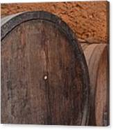 Wine Barrel Canvas Print