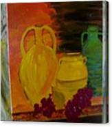 Wine Bottle Assortiment Canvas Print