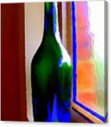 Wine Bottle Canvas Print