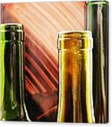 Wine Bottles 2 Canvas Print