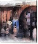 Wine Cellar Photo Art Canvas Print