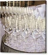 Wine Glasses Canvas Print