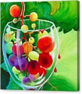 Wine On The Vine IIi Canvas Print