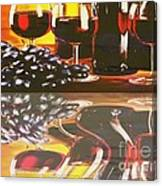 Wine Reflections Canvas Print