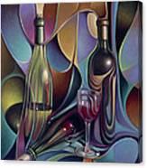 Wine Spirits Canvas Print