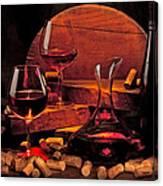 Wine Still Life Canvas Print