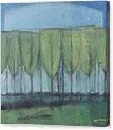 Wineglass Trees Canvas Print