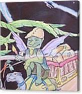 Winged Fantasy  Canvas Print