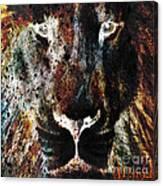 Winged Lion Canvas Print