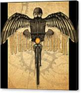 Winged Rider Canvas Print
