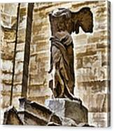 Winged Victory - Louvre Canvas Print