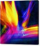 Wings Of Color Abstract  Canvas Print