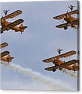 Wingwalkers  Perfect Sync Canvas Print