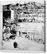 Winkler Ginger Shop, 1922 Canvas Print