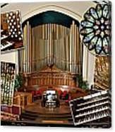 Winnipeg Church Montage Canvas Print