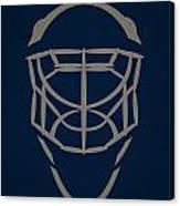 Winnipeg Jets Goalie Mask Canvas Print