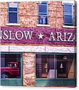 Winslow Arizona 2 Canvas Print