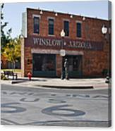 Winslow Arizona - Such A Fine Sight To See Canvas Print