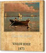 Winslow Homer 1 Canvas Print