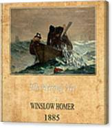 Winslow Homer 2 Canvas Print