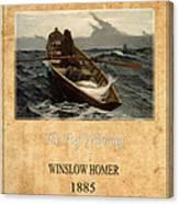 Winslow Homer 4 Canvas Print