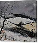 Winter 4531 Canvas Print