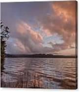 Winter At Big Lagoon Canvas Print
