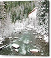 Winter At Mt Hood Canvas Print