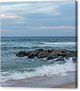 Winter Beach Day Lavallette New Jersey Canvas Print