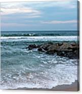Winter Beach Lavallette New Jersey  Canvas Print