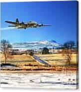 Winter Belle Canvas Print