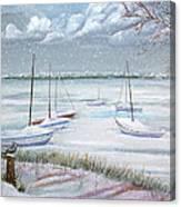 Winter Blue Canvas Print