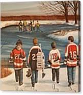 Winter Classic - 2010 Canvas Print