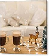 Winter Coffee Canvas Print