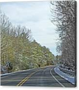 Winter Cruise Canvas Print