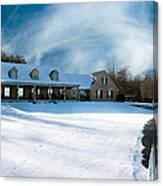 Winter Day Three Canvas Print