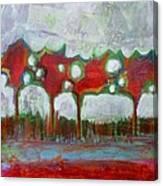 Winter Day Walk Canvas Print