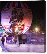 Winter Gardens Ice Rink And Balloon Bournemouth Canvas Print