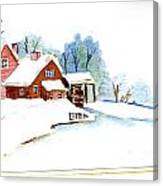Winter Habitat Canvas Print