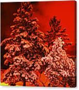 Winter In Minneapolis Canvas Print