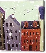 Winter In Nantucket Canvas Print