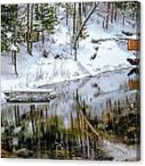 Winter In The Up Canvas Print